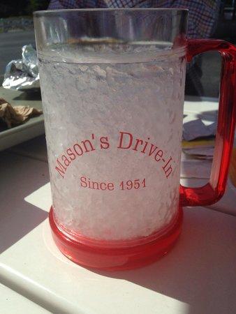 Mason's Root Beer Drive-In: Frozen Mug