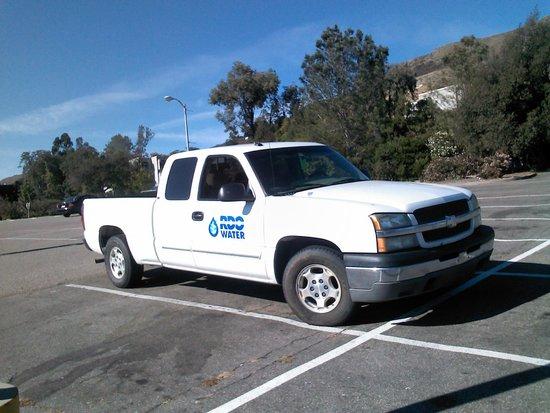 Avenue Inn Downtown San Luis Obispo: work truck