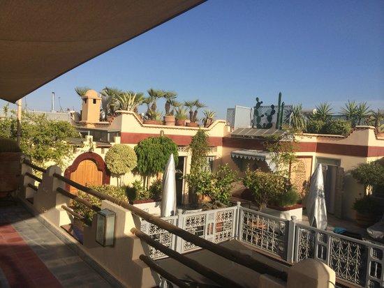 Riad Noos Noos : Terrasse roof top