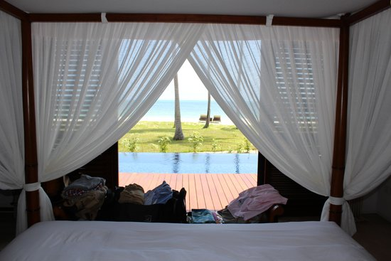 Kizimkazi, Tanzania: fantastic bed!