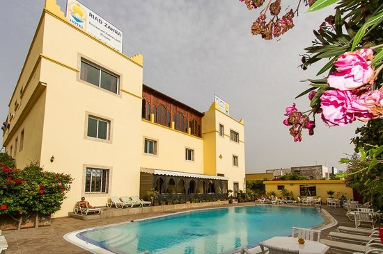 Riad Zahra's Pool