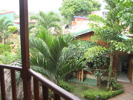 Arenal Hostel Resort: View from porch