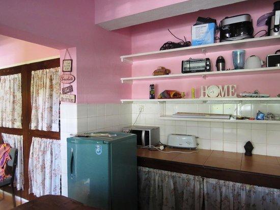 Backpacker's Nirvana: kitchen