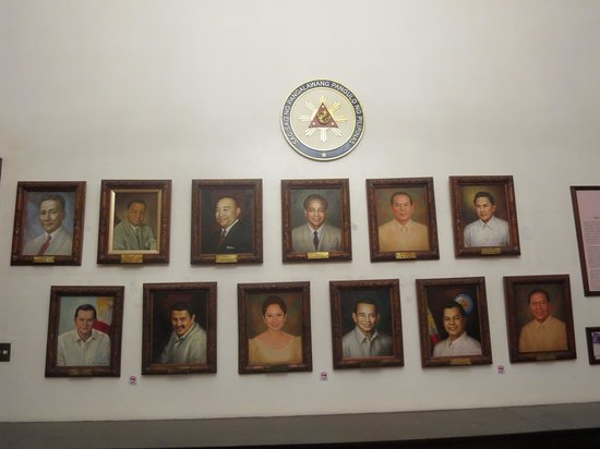 Presidential Museum and Library : portraits of all the vice presidents in the Philippines