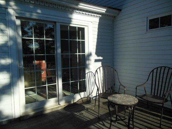 Swift House Inn: Private Balcony