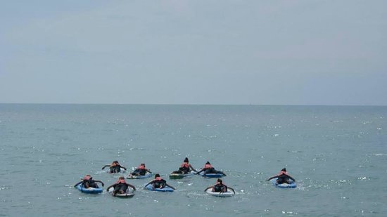 Isle of Wight Adventure Activities: The group