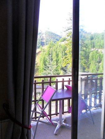 Hotel Edelweiss: balcon de la chambre