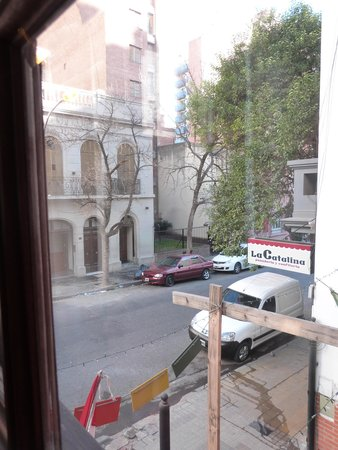 Happy Happy Hostel: Vista desde la habitación