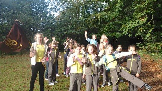 Warwick Hall: Wetheral Brownies enjoy the walks