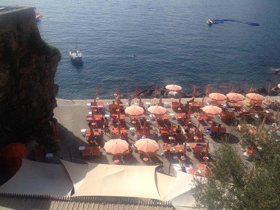 Amalfi Coast Destination Tours Company : One Fire Beach, Praiano Amalfi