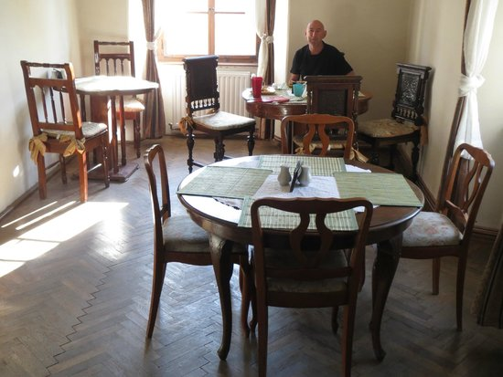 Pension Citadela: Quaint breakfast room