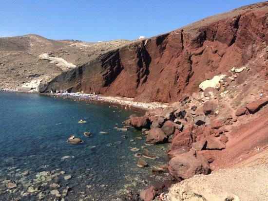 Villa Valvis: Red beach