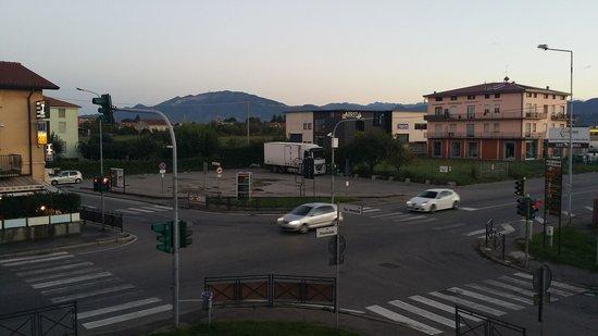Hotel Daina: vista dalla stanza occupata