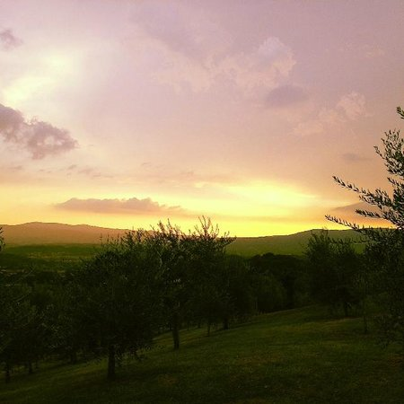 Agriturismo Savernano : The amazing sky.