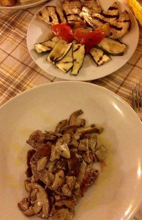 I due regni: Filetto con porcini & verdure grigliate