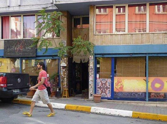 Neverland Hostel: The facade of Neverland