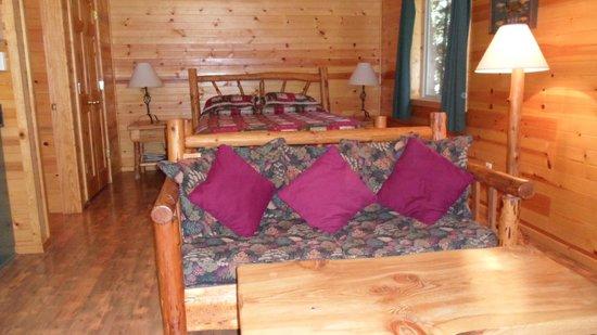 Lure Resort: Log Bed and Furniture