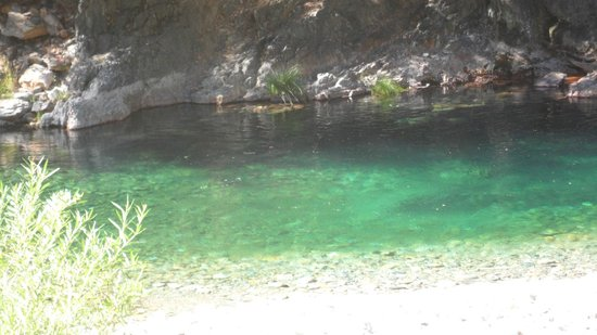 Lure Resort: Swimming Hole on Grounds
