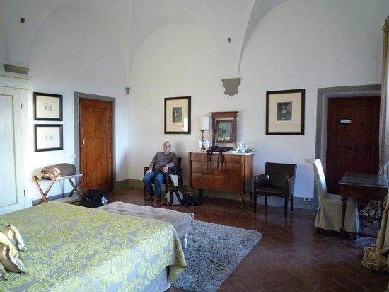 Villa  Vistarenni: la chambre Principe Strozzi
