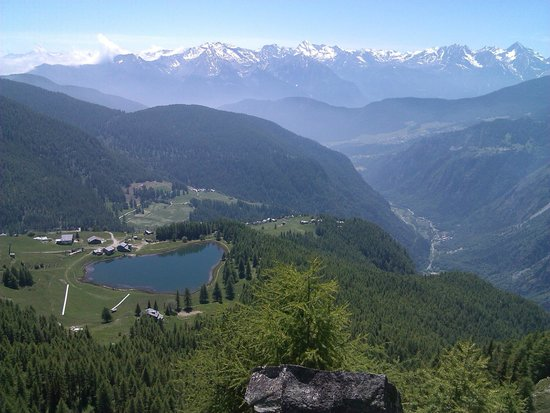 Chamois, Италия: lago lod dal belvedere