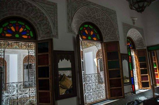 Riad La Perle De La Medina : Windows inside our room