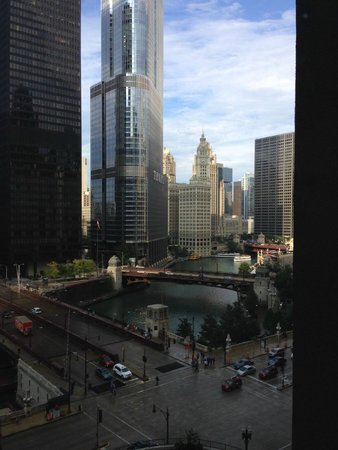 Renaissance Chicago Downtown Hotel: View from room