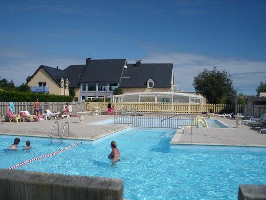 Camping Port'Land: les  piscines