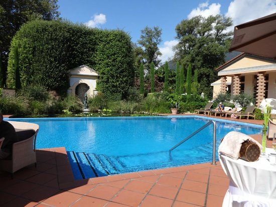 Giardino Ascona: Garden/Pool