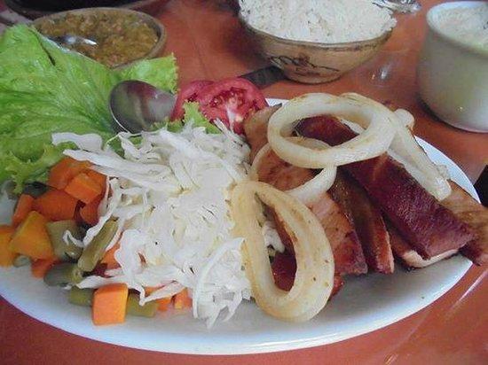 Axego : Carne de porco defumada