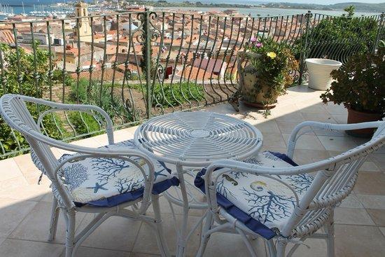 vista dalla terrazza - Foto di Terrazza Bellavista, Carloforte ...