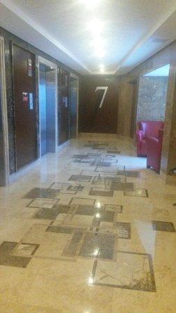 InterContinental Maracaibo: Pasillo de habitacion