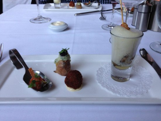 One Market Restaurant : Chef's complementary dish