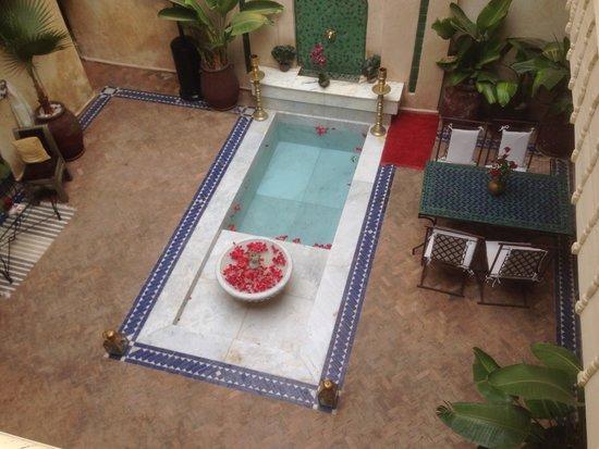 Dar Habiba : Courtyard