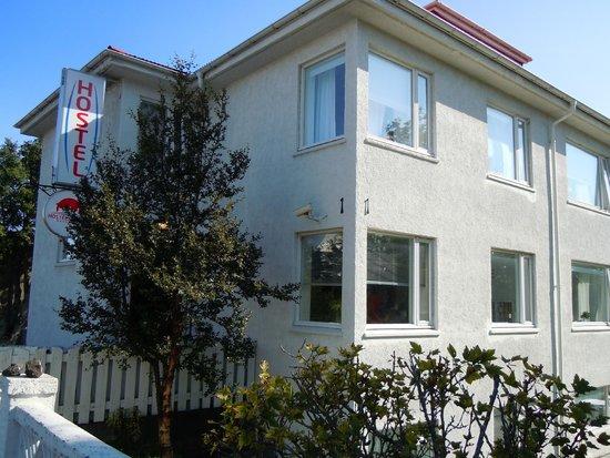 Reykjavik Hostel Village: My room was the corner second story