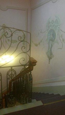Hotel Della Robbia: Dettaglio scale