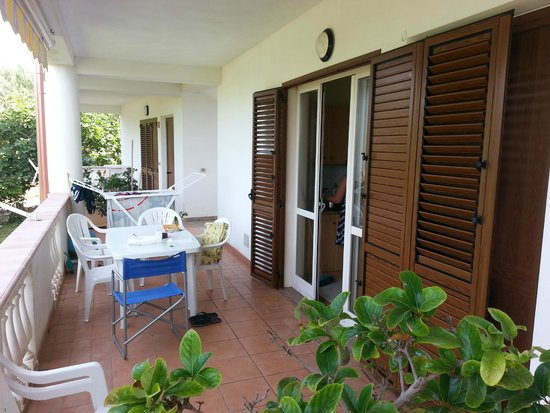 Hotel Residence Le Playe: veranda esterna appartamento