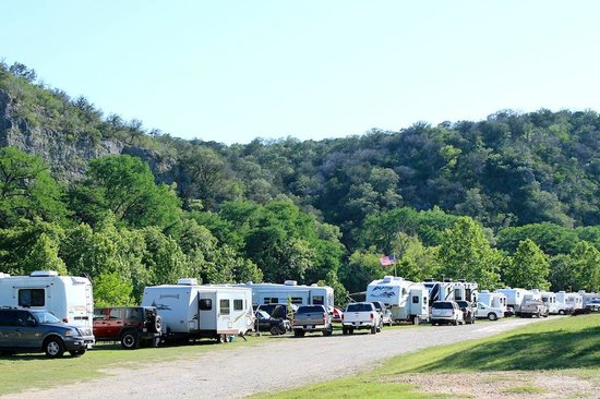 "KL Ranch Camp ""On The River"" : View of the Campground (Mid May)"
