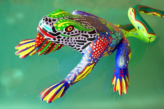 Lucy's CuCu Cabaña: Oaxacan Lizard