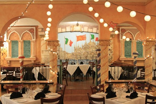 Dining Area At Baci Restaurant