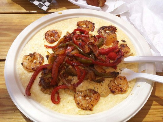Dolphin View Seafood: Shrimp and gritts