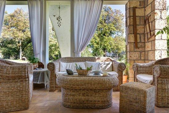 Nocifazino: salotto estivo