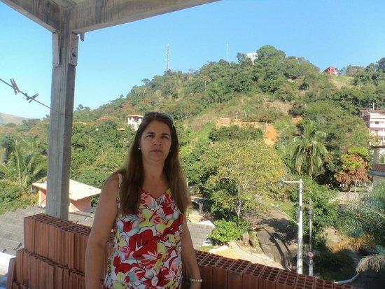 Conceicao de Jacarei, RJ: terraço da pousada