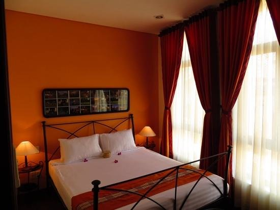 Nam Bo Boutique Hotel: slaapkamer