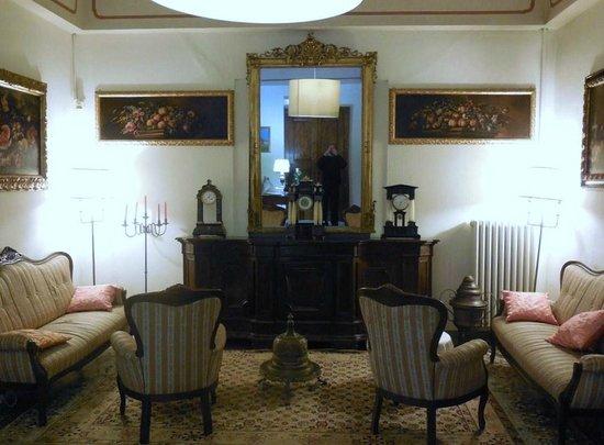 Hotel Villa Luppis: sitting area