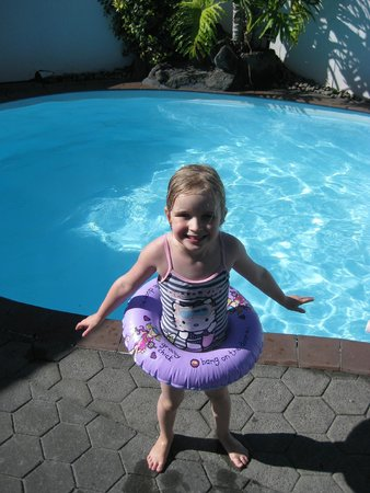 Edelweiss Motel: Kids just love our year round heated pool