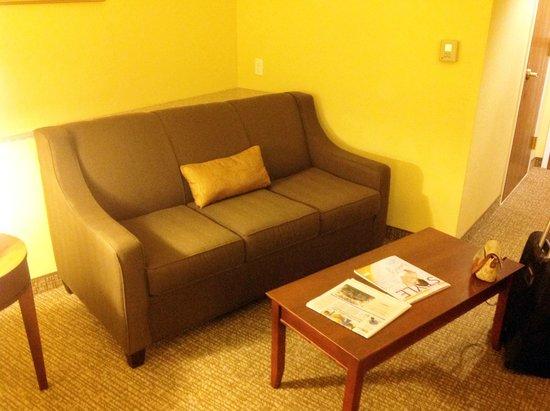 Comfort Suites Ocala: Sitting Area Living Room of Suite