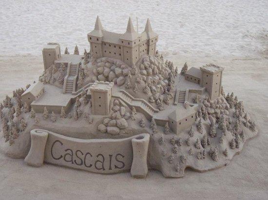 Cascais Marina : Cascais seen by sand master