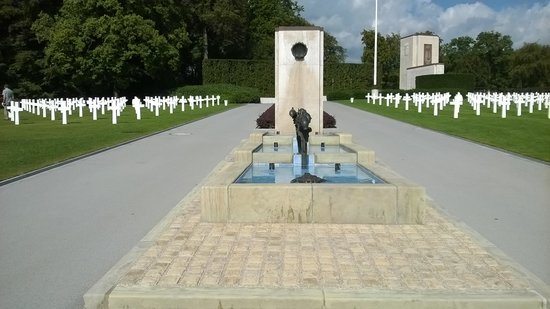 Luxembourg American Cemetery Memorial : Luxembourg American Cemetery