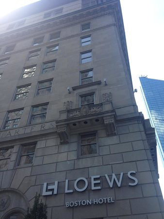 Loews Boston Hotel: Outside view
