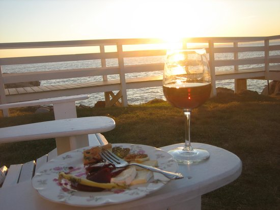 The Keeper's House: Sunset toast (BYOB) with amazing evening appetizers